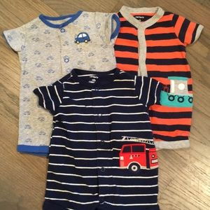 Lot of 3 Newborn Jumpers